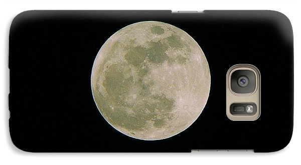Galaxy Case featuring the photograph Super Moon May 5  2012 by Brian Wright