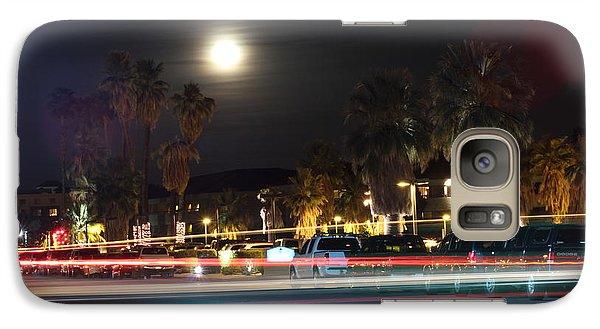 Galaxy Case featuring the photograph Supermoon I by Carolina Liechtenstein