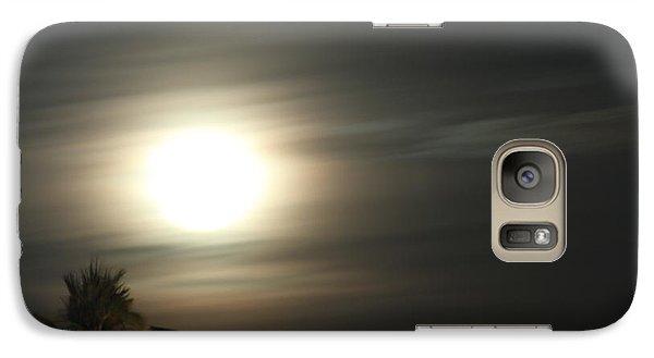 Galaxy Case featuring the photograph Supermoon II by Carolina Liechtenstein
