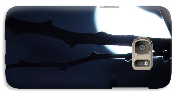 Galaxy Case featuring the photograph Supermoon IIi by Carolina Liechtenstein
