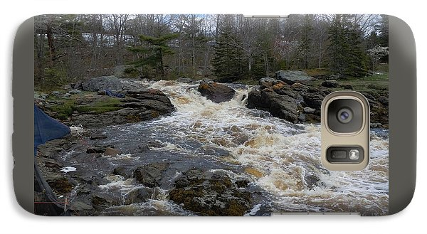 Galaxy Case featuring the photograph Surry Falls by Francine Frank