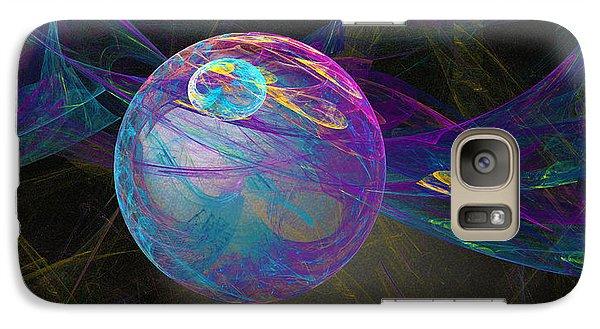 Galaxy Case featuring the digital art Suspension by Victoria Harrington