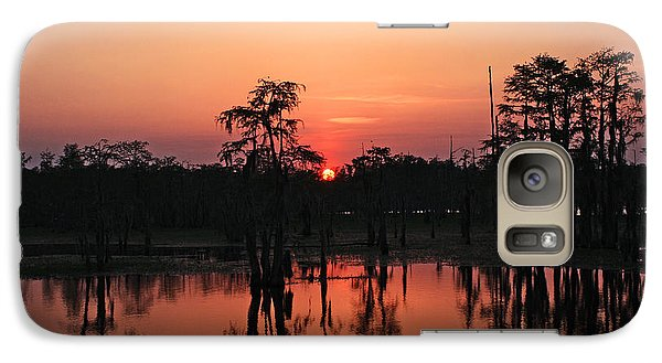 Galaxy Case featuring the photograph Swamp Sunset by Luana K Perez