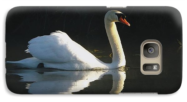 Galaxy Case featuring the photograph Swan Lake  by Gerald Strine
