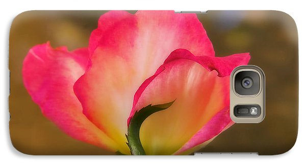Galaxy Case featuring the photograph Sweet Pink by Joan Bertucci