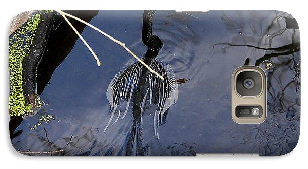 Swimming Bird Galaxy S7 Case by David Lee Thompson