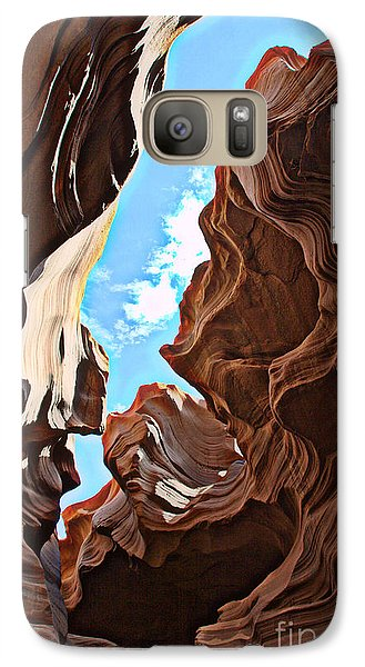 Galaxy Case featuring the photograph Swirls by Jim McCain