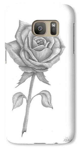 Galaxy Case featuring the drawing Symbol Of Love by Patricia Hiltz