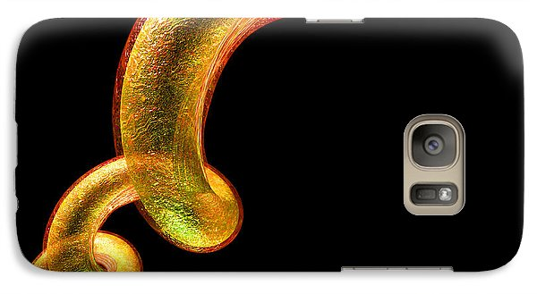 Galaxy Case featuring the digital art Syphilis by Russell Kightley