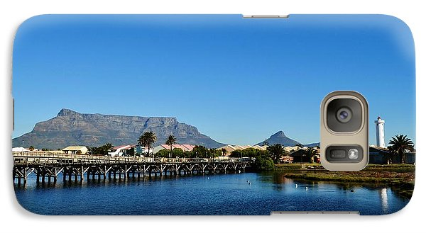 Galaxy Case featuring the photograph Table Mountain by Werner Lehmann