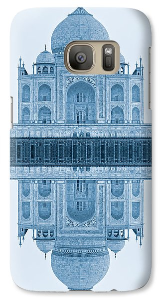 Galaxy Case featuring the photograph Taj Mahal by Luciano Mortula