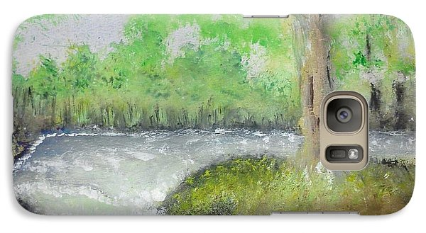 Galaxy Case featuring the painting Take Me To The River by Carol Duarte