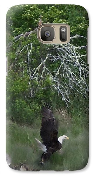 Galaxy Case featuring the photograph Taking Home The Catch by Francine Frank