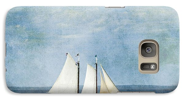 Galaxy Case featuring the photograph Tall Ship by Alana Ranney