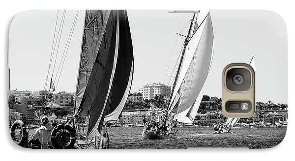 Galaxy Case featuring the photograph Tall Ship Races 2 by Pedro Cardona