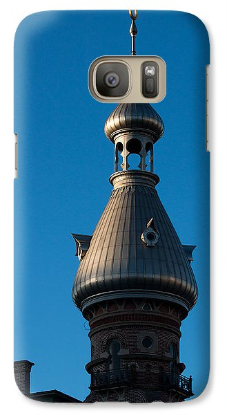 Galaxy Case featuring the photograph Tampa Bay Hotel Minaret by Ed Gleichman