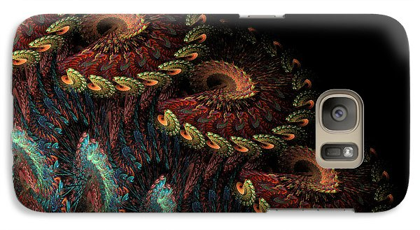 Galaxy Case featuring the digital art Tapestry by Kathleen Holley