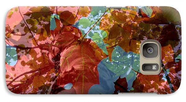 Galaxy Case featuring the photograph Tapestry Of Autumn 2 by France Laliberte