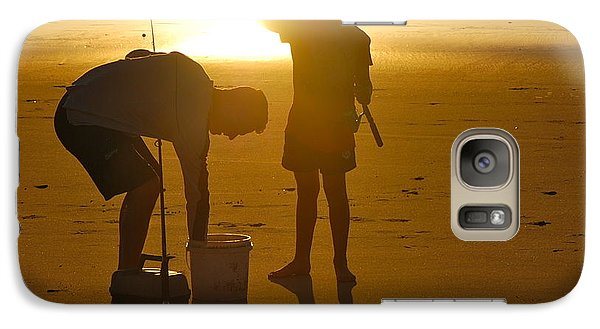Galaxy Case featuring the photograph Teach A Man To Fish... by Eric Tressler