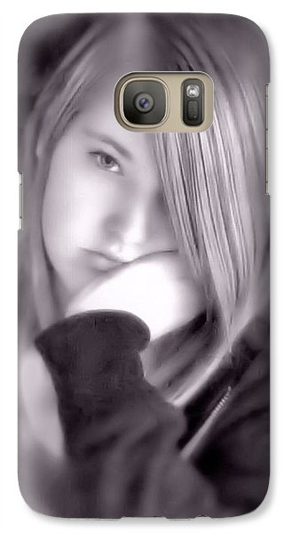 Galaxy Case featuring the photograph Teen Years by Katie Wing Vigil