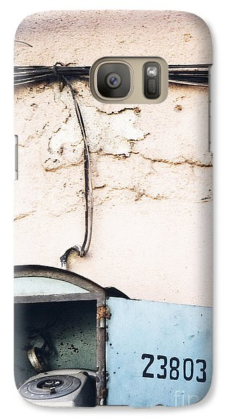 Galaxy Case featuring the photograph Telephone Booth by Agnieszka Kubica
