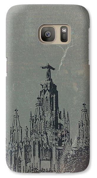 Barcelona Galaxy S7 Case - Temple Expiatory by Naxart Studio