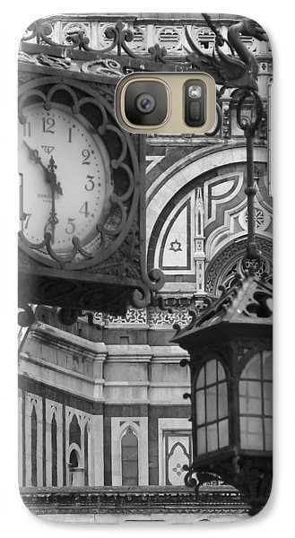 Galaxy Case featuring the photograph Ten Thirty by Ramona Johnston