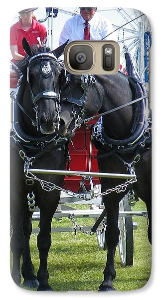 Galaxy Case featuring the photograph Tender Moment by Davandra Cribbie