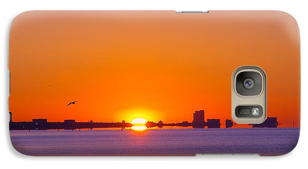 Galaxy Case featuring the photograph Tequila Sunrise by Brian Wright