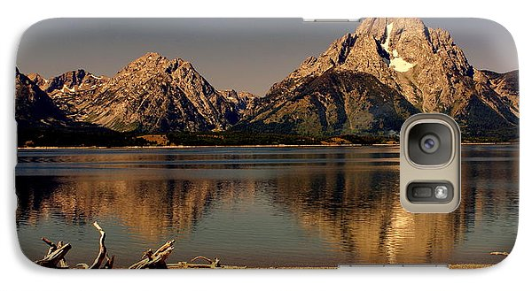 Galaxy Case featuring the photograph Teton Panoramic by Marty Koch
