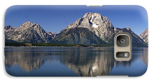Galaxy Case featuring the photograph Teton Panoramic View by Marty Koch