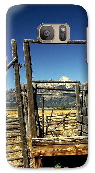 Galaxy Case featuring the photograph Teton Ranch by Marty Koch
