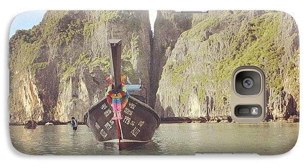 #thailand #phuket #mayabeach #mayabay Galaxy S7 Case