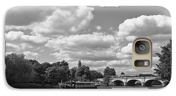Galaxy Case featuring the photograph Thames River Cruise by Maj Seda