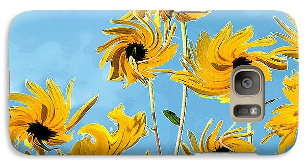 Galaxy Case featuring the photograph Thank You Vincent by Deborah Smith