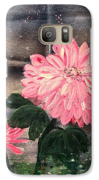 Galaxy Case featuring the painting That's My Mum by Kathy Sheeran