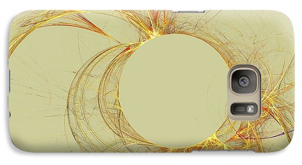 Galaxy Case featuring the digital art The Arcs by Kim Sy Ok