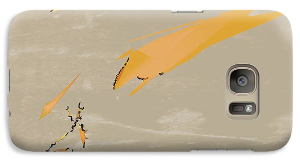 Galaxy Case featuring the painting The Beast Afoot by Kevin McLaughlin