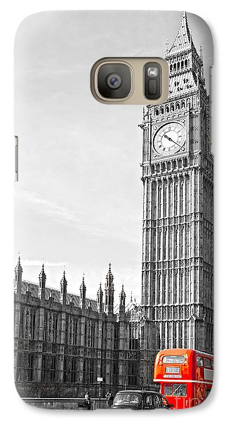 Galaxy Case featuring the photograph The Big Ben - London by Luciano Mortula