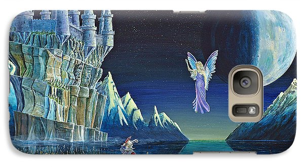 Galaxy Case featuring the painting The Blessing Of Galahad by Anthony Lyon
