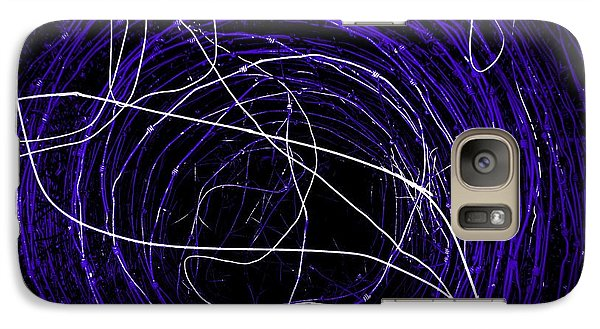 Galaxy Case featuring the photograph The Blue Barb by Amy Sorrell