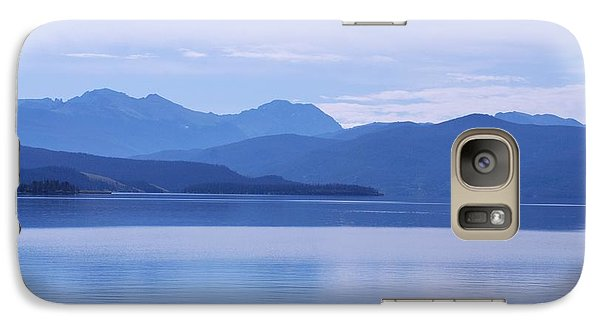 Galaxy Case featuring the photograph The Blue Shore by Dany Lison