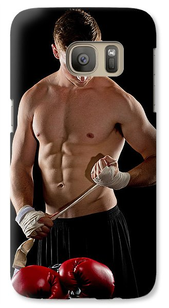 Galaxy Case featuring the photograph The Boxer by Jim Boardman