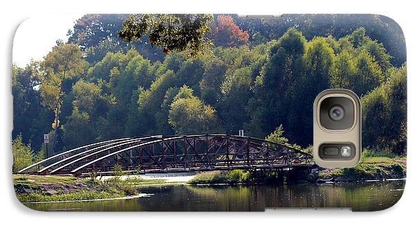 Galaxy Case featuring the photograph The Bridge by Kathy  White