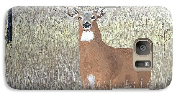 Galaxy Case featuring the painting The Buck Stops Here by Norm Starks