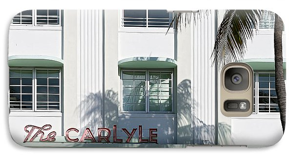 The Carlyle Hotel 2. Miami. Fl. Usa Galaxy S7 Case