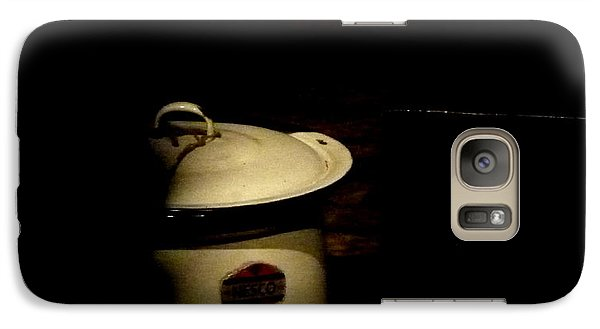 Galaxy Case featuring the photograph The Chamber Pot by Newel Hunter