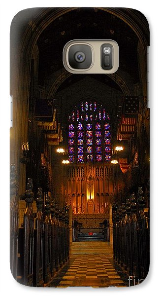 Galaxy Case featuring the photograph The Chapel At Valley Forge Park by Cindy Manero