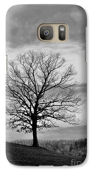 Galaxy Case featuring the photograph The Coming Storm by Laurinda Bowling