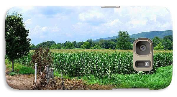 Galaxy Case featuring the photograph The Corn Field by Paul Mashburn